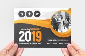 Seminar Design Template Marketing Seminar Flyer Template Template Ideal Corporate