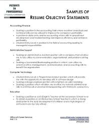 Objective Of Resume For Internship objective in a resume cliffordsphotography 89