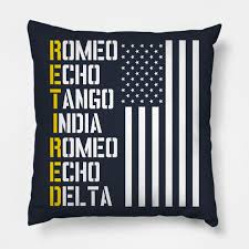 Test your knowledge on this language quiz and compare your score to others. Military Police Pilot Retirement Gift Phonetic Alphabet Military Retirement Pillow Teepublic