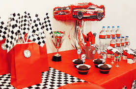Cars Party Decorations Race Car Party Ideas And Free Printables Growing Up Bilingual