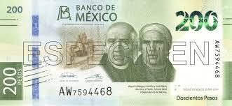 Conversion Chart Canadian Dollars To Mexican Pesos Mexican Peso Wikipedia