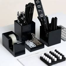 coolest office supplies. black pen cup cool office supplies poppin coolest y