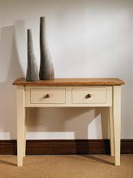 small cream console table. mottisfont painted console table (green, pine, pine writing / hall sofa small cream l