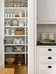 Kitchen: Small Pantry Shelving Decor - Kitchens