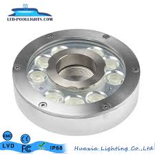 Hot Item Ip68 Waterproof Stainless Steel 36w Led Fountain Light