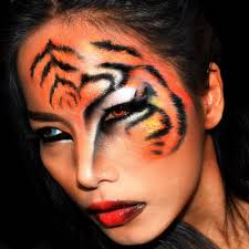 tiger makeup look