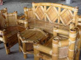 furniture made of bamboo. Bamboo Sofa Set Furniture Made Of