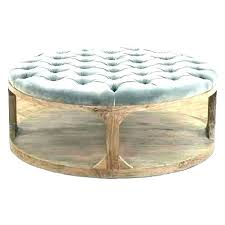 large round tufted ottoman cool with simple circle fringe gorgeous coffee table canada leather black
