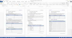 It Proposal Template Word Concept Proposal Template MS Word 14