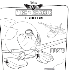 Small Picture Disneys Planes Fire Rescue Video Game Coloring Pages Disney 16895