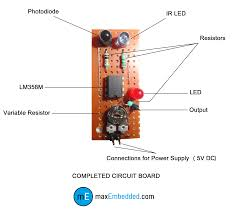 how to build an ir sensor  maxembedded circuit discription