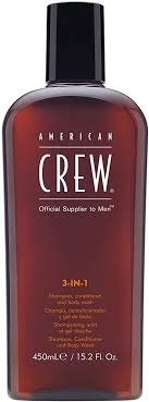 <b>American Crew</b> - CREW <b>3 IN 1</b> shampoo. conditioner and body ...