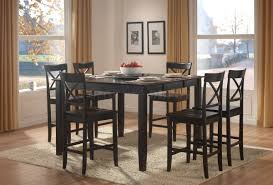 marble dining room table darling daisy:  incredible counter height table with storage black counter height dining room with tall dining room table