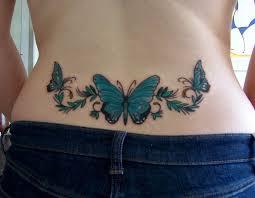Nižší Zadní Tetování 9 Nápadů Pro Nejvíce Stylové Dívky Móda Pro