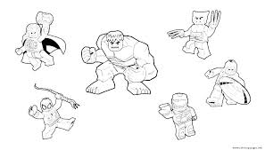 Avengers Coloring Page Mybookmarkspotinfo