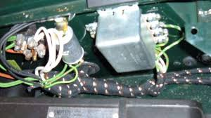 mga wiring harness installation relay box for mga 1500 brake lights and turn signals