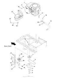 Teseh engine lawn mower parts moreover john deere stx38 fuel system likewise exmark 36 48 52