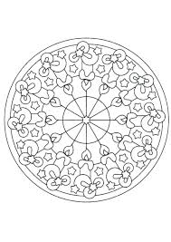 Kaleidoscope Coloring Pages Symmetry Rose Colori On Symmetrical