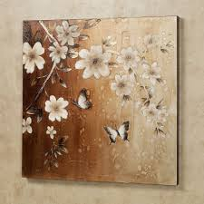 midday sun black and white butterfly canvas wall art white floral on brown canvas hang on on pink and brown wall art with wall art sample ideas butterfly canvas wall art butterfly paintings