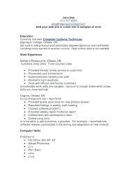 Computer Skills Resume Example Template Awesome Resume Sample Computer Skills Directory Resume