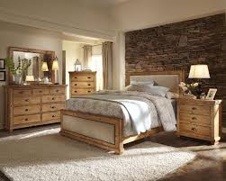 Bedroom: Bedroom Built In Wall Units Carpet Creamy Pillow With Cloth Dark  Brown Varnish Wooden