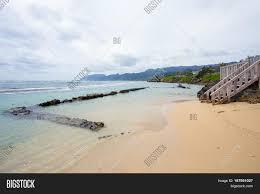 Tropical Paradise Bathtub Beach Image & Photo | Bigstock