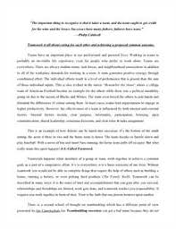 teamwork essay anti essays apr   teamwork essay and over 84 000 other research documents