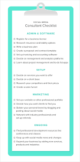 Duties Of A Marketing Consultant How To Become A Successful Social Media Consultant Sprout Social