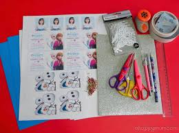 make your own frozen invitations a happy mum singapore parenting blog