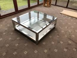 terrano stainless steel glass top
