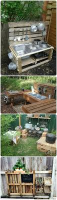 outdoor kids kitchen