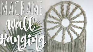 Macrame Dream Catcher Patterns Free HOW TO DIY Macrame Hoop Wall Hanging YouTube 47