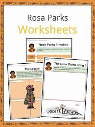 Rosa Parks Facts, Worksheets, Information & Biography For Kids