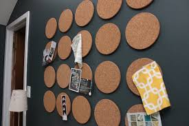 Cork boards for walls Accent Wall Mini Round Cork Boards Pinterest Diy Projects To Dress Up Your Cork Boards