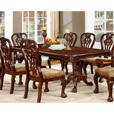 Furniture Of America Dubelle Classic Dining Table Hayneedle