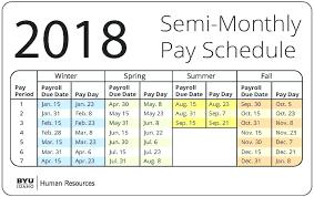 Payroll Calendar Template Custom Payroll Schedule Template Naserico