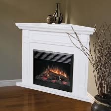 corner electric fireplace design