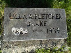 Lilla Augusta Fletcher Blake (1863-1938) - Find A Grave Memorial