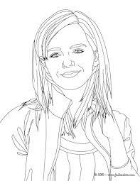 Coloriage Emma Watson My Blog