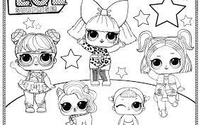 Lol Dolls Colourings Unicorn Series Doll Punk Boi Spice Surprise