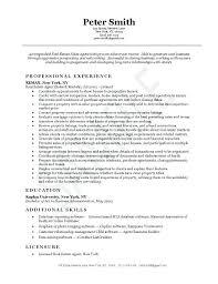 Real Estate Agent Resumes Real Estate Agent Resume Real Estate Agent