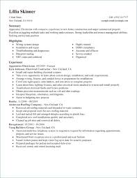 Journeyman Electrician Resume Best Of Electrical Foreman Resume