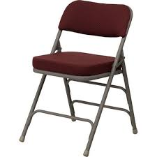 padded metal folding chairs all chairs design metal folding chairs padded fritz