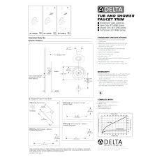 delta shower valve installation manual delta monitor shower faucet installation manual faucet decoration intended for delta shower faucet installation