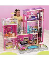 wooden barbie dollhouse furniture. Modern Uptown Dollhouse Wooden Barbie Furniture O