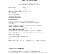 Magnificent Mbbs Resume Format Photos Example Resume Ideas