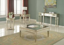 Mirrored Living Room Furniture T1830 I Furniture Import Export Inc
