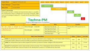 Project Status Report Template 10 Progress Report
