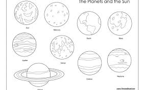 Planets Coloring Pages Solar System Movie Star Planet Colouring Pdf