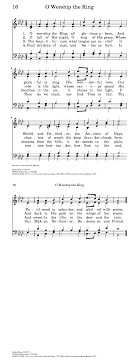 The Light Of That City Sheet Music O Worship The King All Glorious Above Hymnary Org
